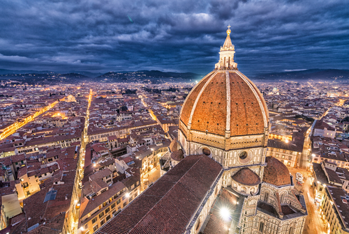 duomo florence italy sunset (1)