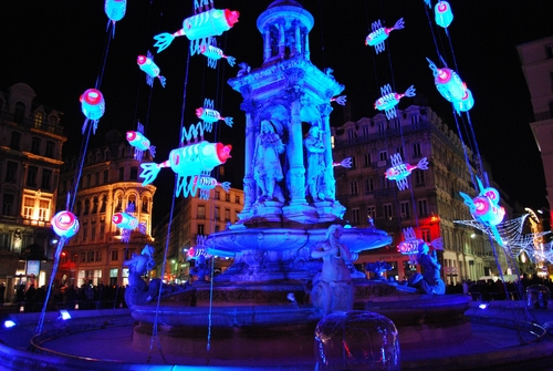 Jacobins Square, Festival of Lights | Lyon, France