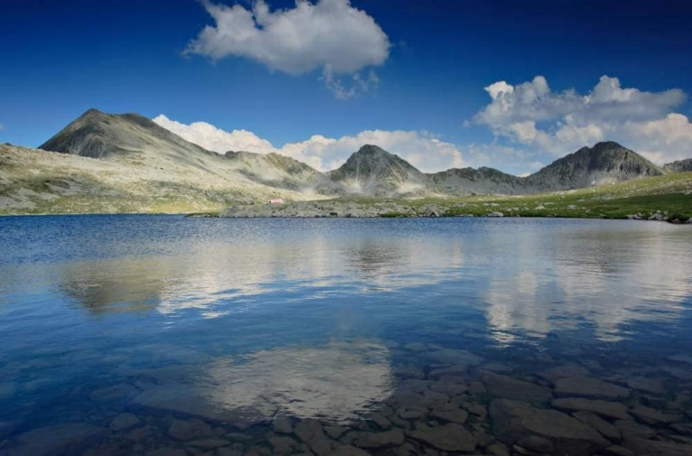 Glacial lake in national park Pirin