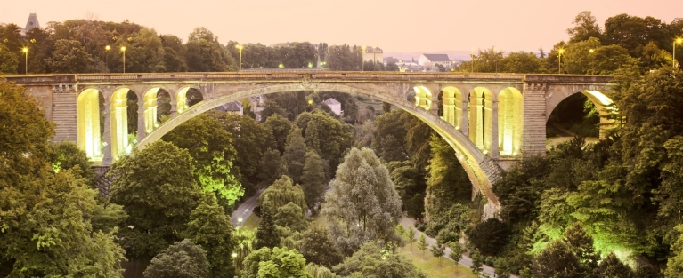Pont Adolphe Bridge, Luxembourg city