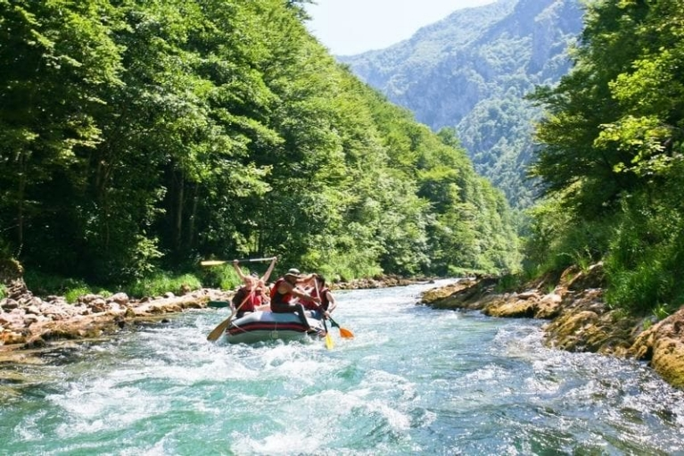 Rafting on Neretva River, Bosnia Herzegovina
