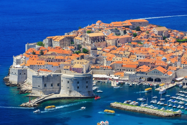 View on Dubrovnik's Old Town
