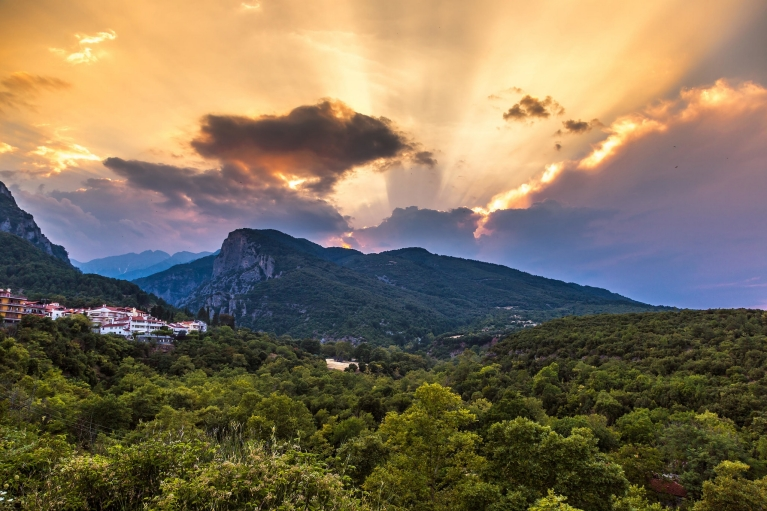 Sunrise over Mount Olympus | Ancient History Tour