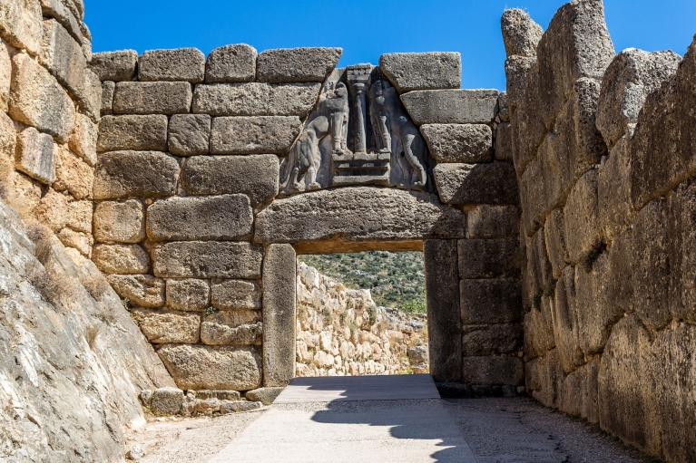 The Lion Gate in Mycenae | Ancient History Tour