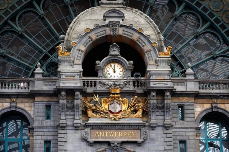 Train station of Antwerp